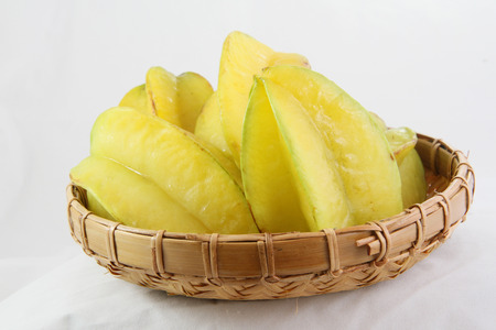 carambola: carambola  star fruit Stock Photo