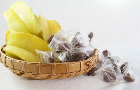 carambola: carambola fruit star apple Stock Photo