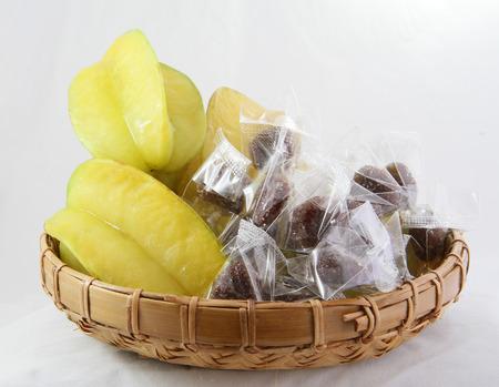 carambola: fruit carambola star apple Stock Photo