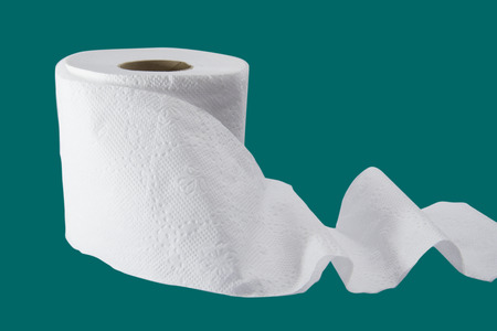 tejido: rollo de papel Foto de archivo