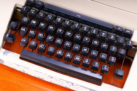 old keyboard photo