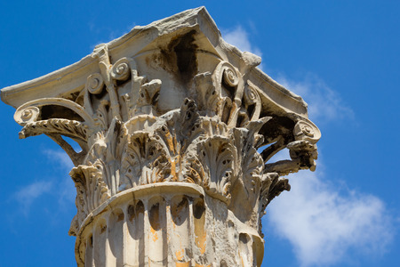 zeus: Ancient Temple Of Olympian Zeus , Athens, Greece