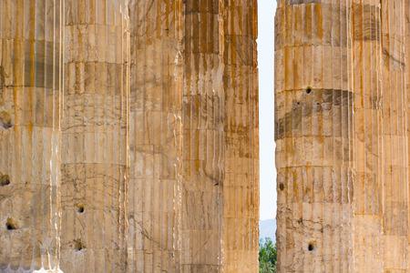 olympian: Ancient Temple Of Olympian Zeus , Athens, Greece