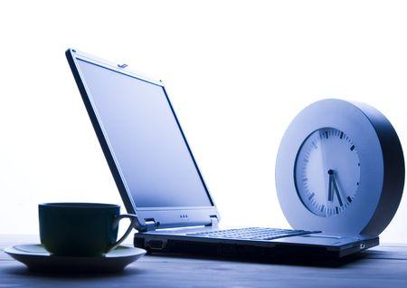 Tiempo del negocio Foto de archivo - 803648