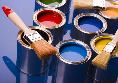 redecorate: Paint and cans