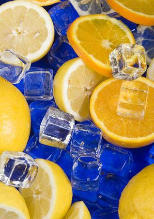 thin ice: Sour citrus fruit