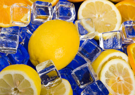 thin ice: Lemons & Ice Cubes
