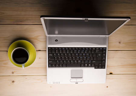 Laptop & Caffe Stock Photo - 956047