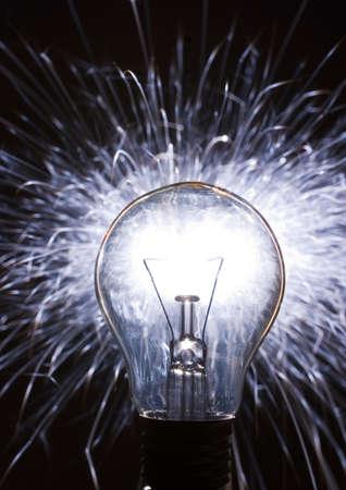 Żarówki światła Zdjęcie Seryjne
