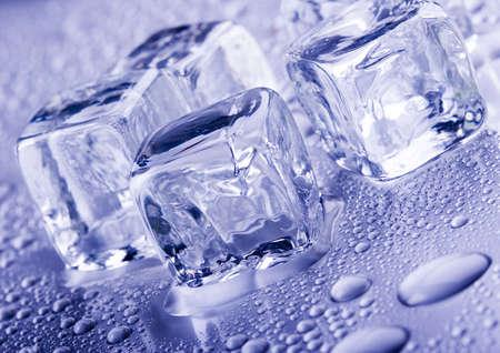 Kostki lodu Zdjęcie Seryjne