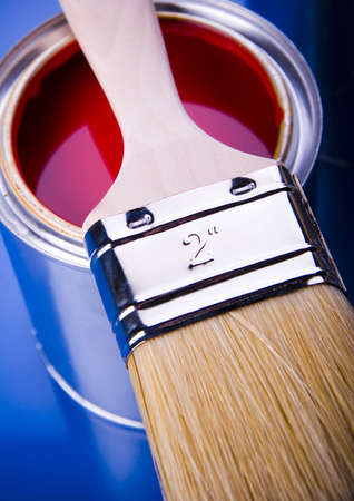 Paint and cans Stock Photo - 952207