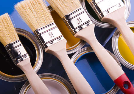 Paint and cans Stock Photo - 952214