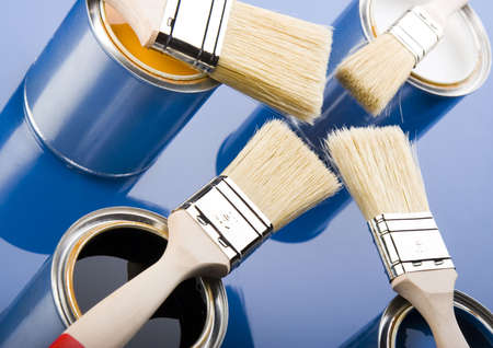 Paint and cans Stock Photo - 952217