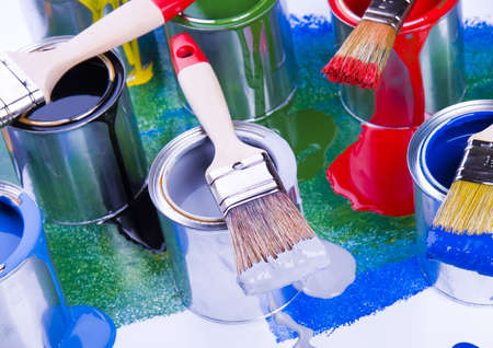 redecorate: Colorful background Stock Photo