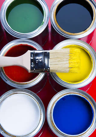 redecorate: Cans Stock Photo