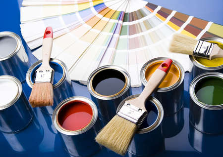 Paint brush and paint Stock Photo - 2152888