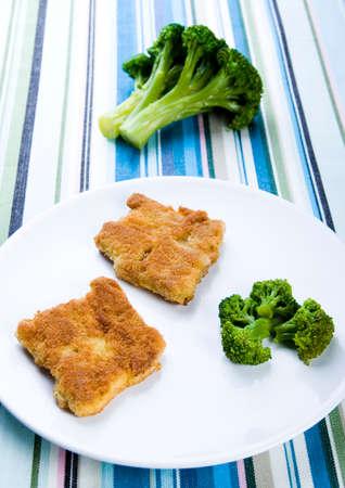 Steaks & Broccoli Stock Photo - 2152532