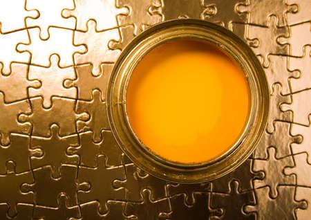 Gold idea photo
