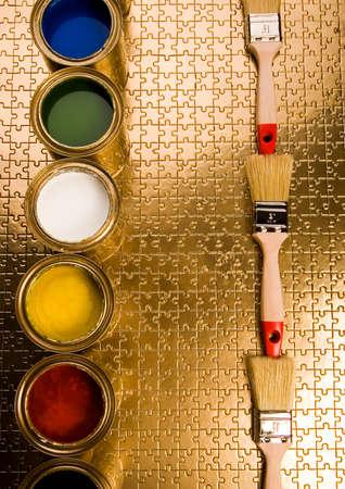 gold cans: Nuova idea