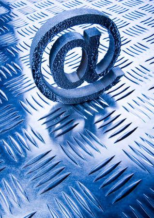 adresses: Symbols of internet Stock Photo