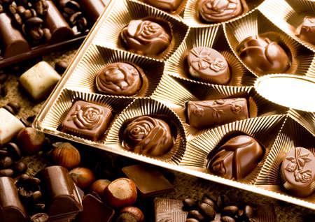gratifying: Chocolate bars Stock Photo