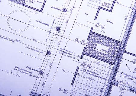 planos arquitecto: Arquitectura plan  Foto de archivo