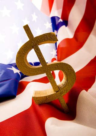 dolar: U.S.A flag & Dollar  Kho ảnh