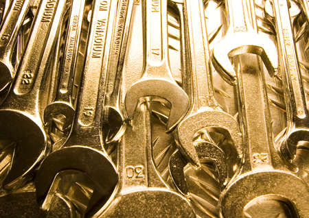 open end wrench: Open end wrench