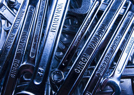 Spanners          Stock Photo