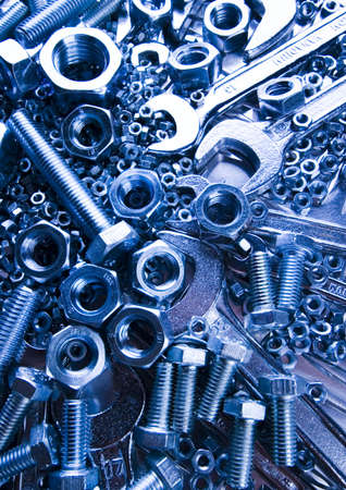 Scattered spanners Stock Photo - 2189948