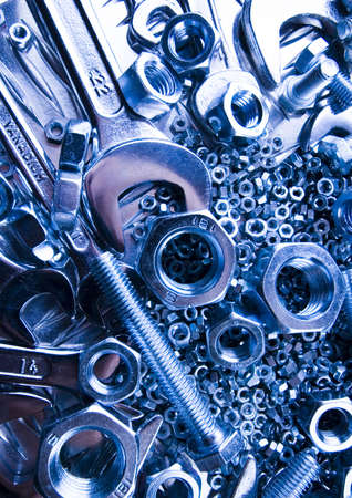 Scattered spanners Stock Photo