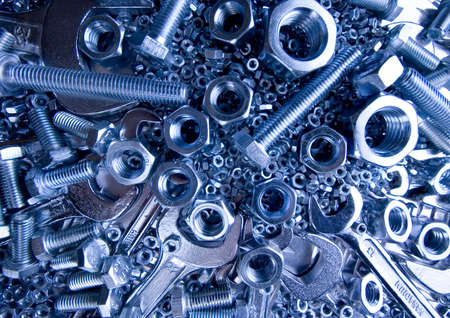 Scattered spanners Stock Photo - 2189959