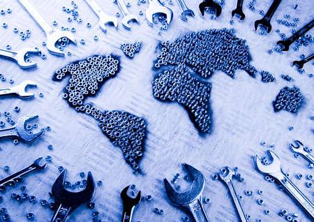 screw key: World & Spanners