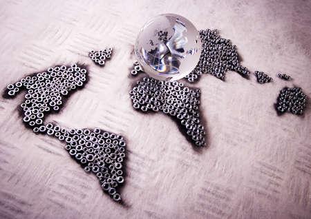 screwdriwer: World map