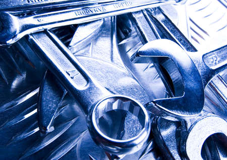 screwdriwer: Spanners   Stock Photo
