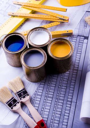 Blueprints Stock Photo - 2387519
