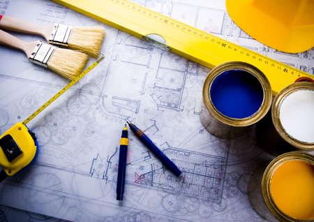 Blueprints Stock Photo - 2383799