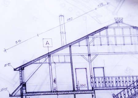 built structure: House plan