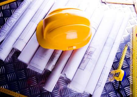 Blueprints Stock Photo - 2383801