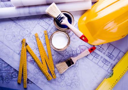 House plan Stock Photo - 2385502