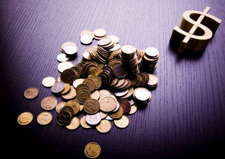 dolar: D�lar Foto de archivo