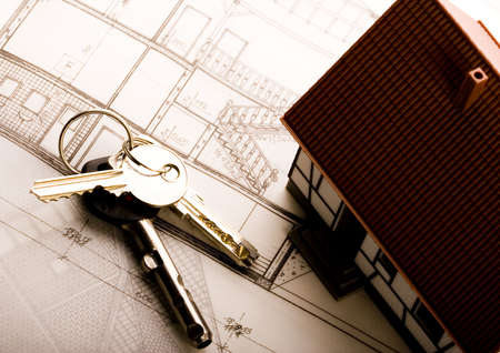 Close up of a blueprint Stock Photo - 2612153