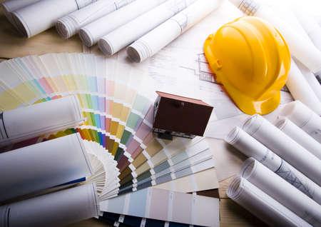 Architecture planning Stock Photo - 2612022