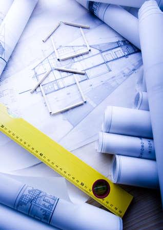 Blueprints Stock Photo - 2612032