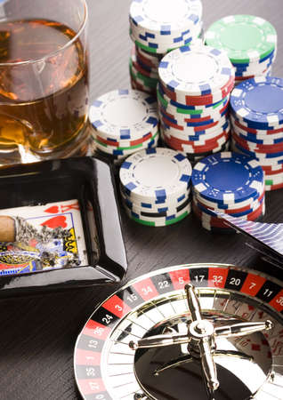 Casino game Stock Photo - 2612171