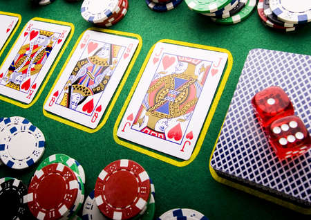 A game of cards Stock Photo - 2612293