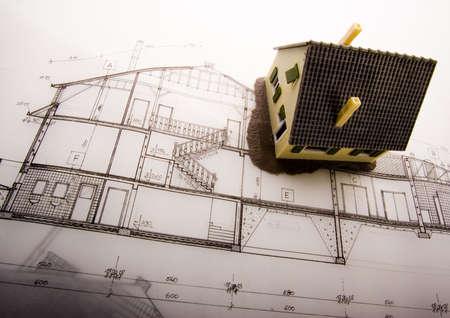 House plan Stock Photo - 2625073