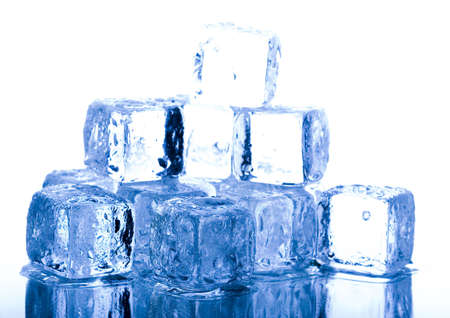 Ice background photo