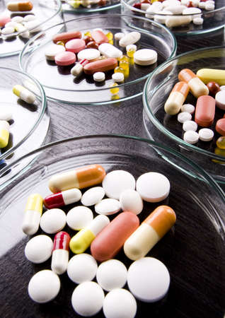 pharmacologist: Drugs, medicines, tablets, pills - collection