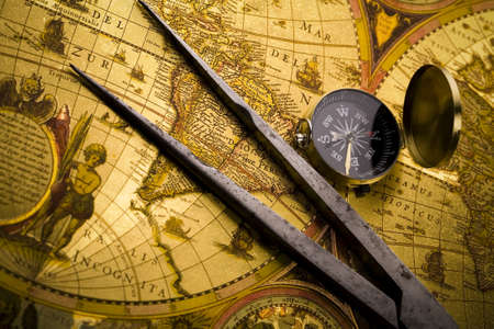 travelling: Navigation  Stock Photo